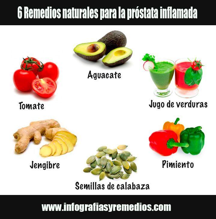 Como curar la prostata con remedios naturales