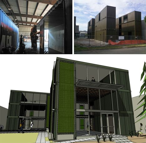 hybrid seattle cargotecture office building shipping container container office building c38 container