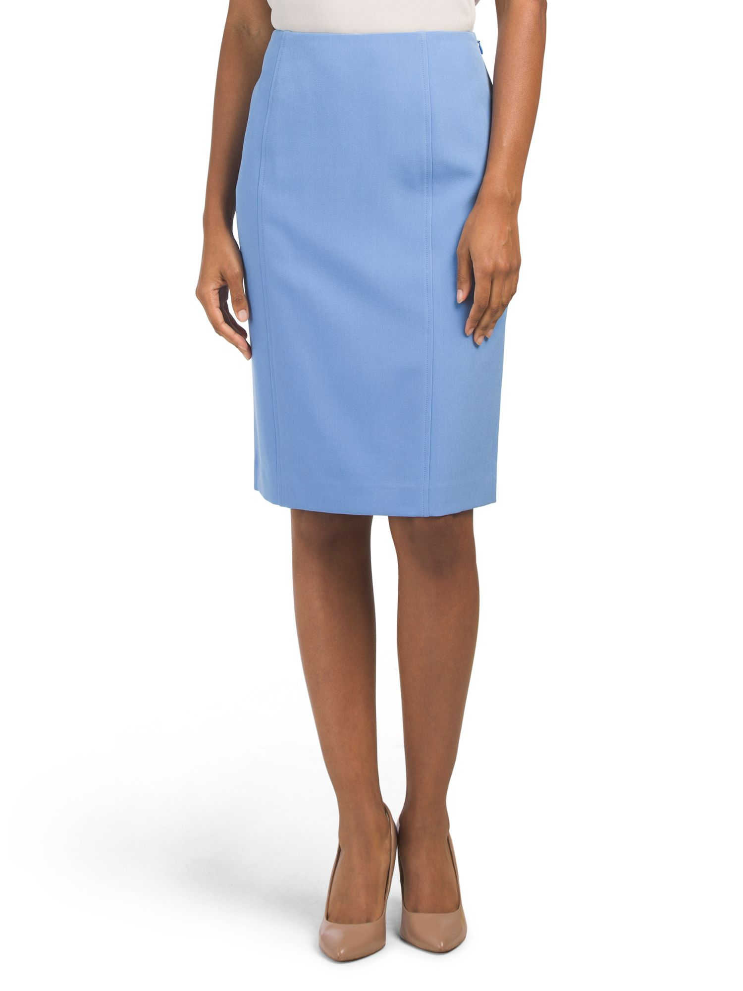 64ae6d2529 Stretch Crepe Pencil Skirt - New Arrivals - T.J.Maxx