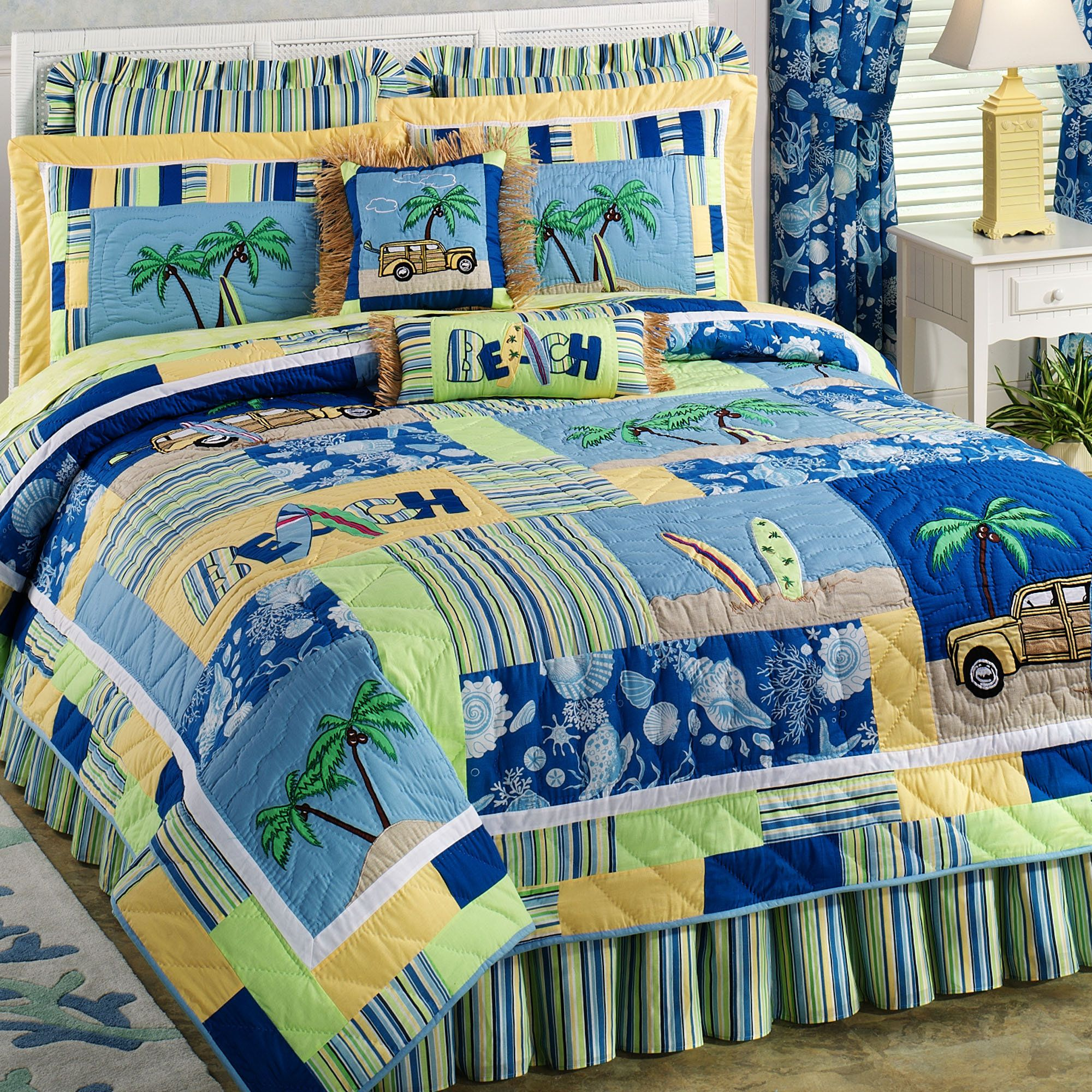 full tropical inspired themed style sets seaside covers duvet decor bedspreads sea coastal of house size quilts comforters comforter beach bedding ideas