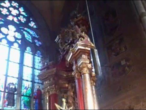 Beautiful church at the Castle in Praha