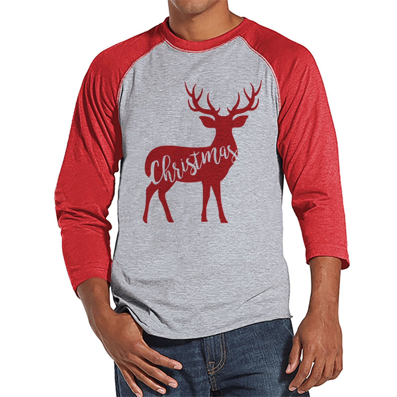 Reineer Holiday Shirt Men's Christmas Shirt Men's