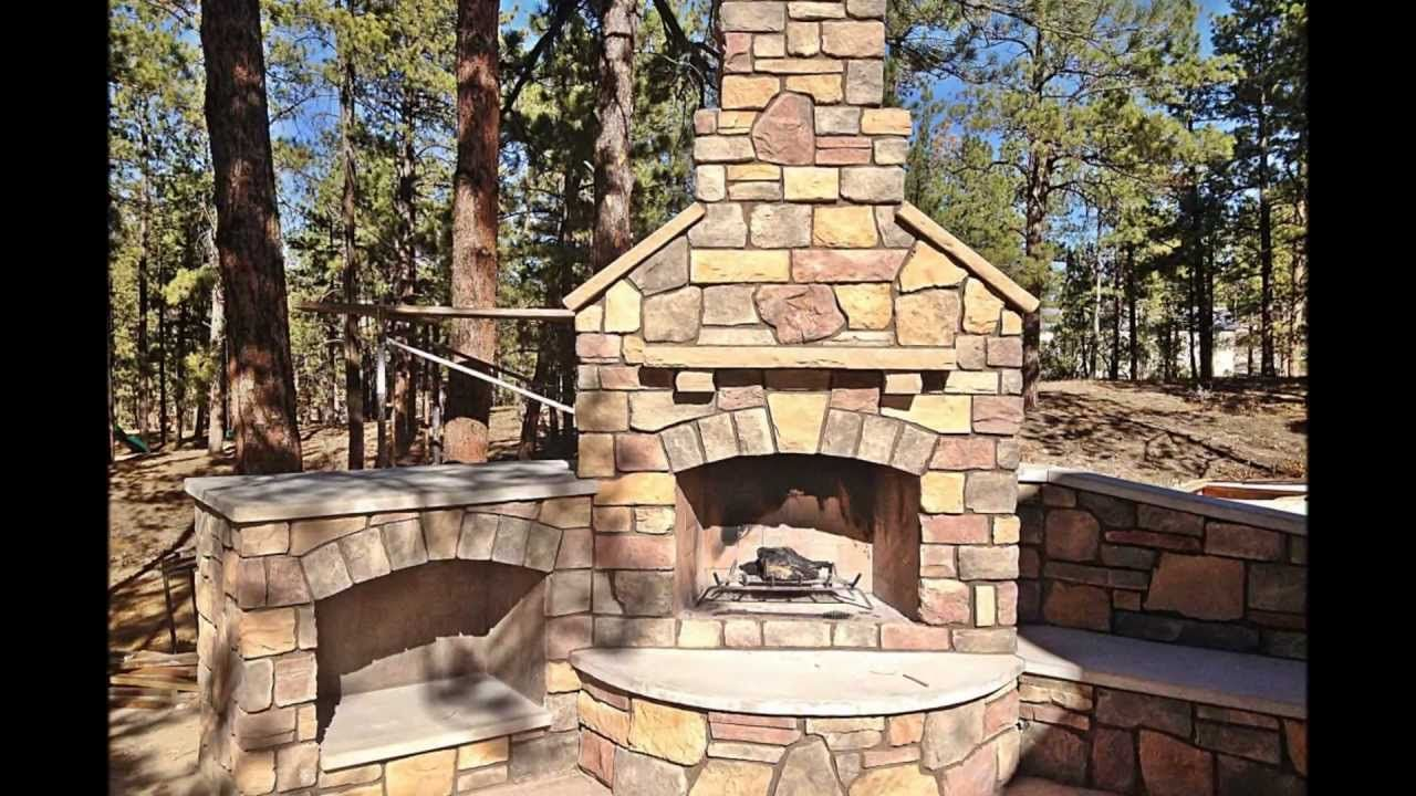 Building An Outdoor Fireplace Youtube Outdoor Fireplace