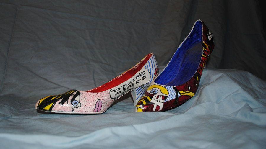 Image result for lichtenstein shoes