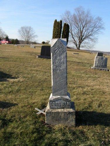 Father and Mother Saint Joseph Cemetery Crooksville, Ohio