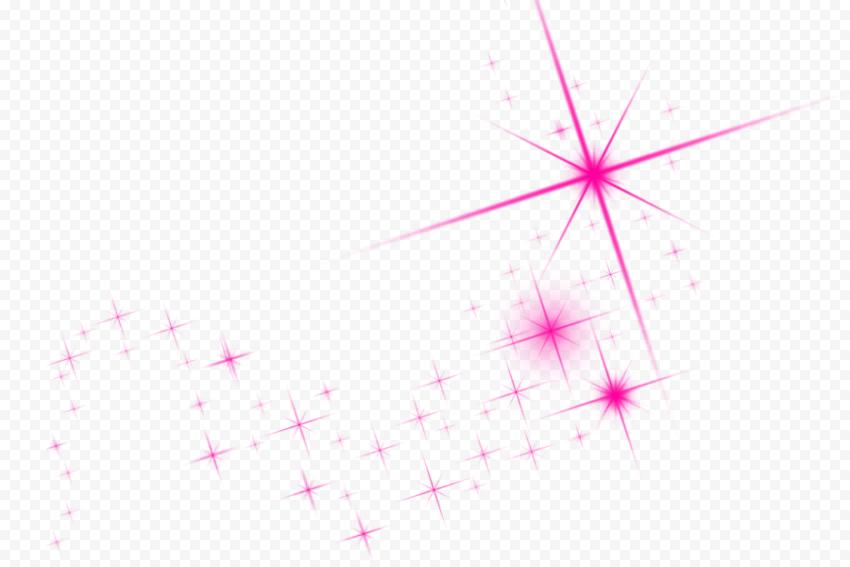 Pink Sparkle Shining Stars Thumbnail Effect Pink Sparkle Shining Star Pink