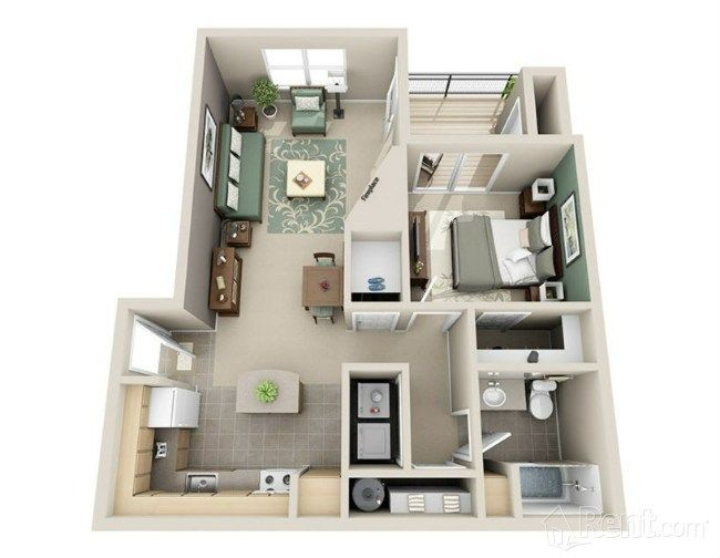 Check Out The Lodges At Lake Salish On Rent Com Apartment Layout Apartment Floor Plans Small House Plans