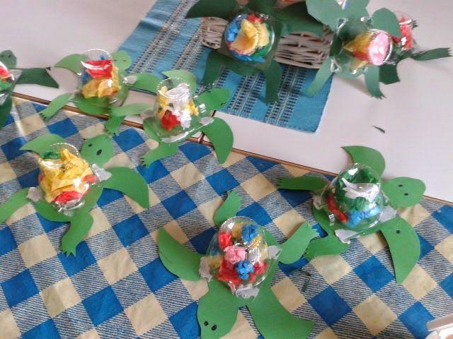 Outi's life: Askartelua töissä/crafting at work