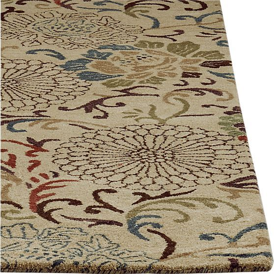 Cyrille Rug in All Rugs | Crate and Barrel possible kitchen ...