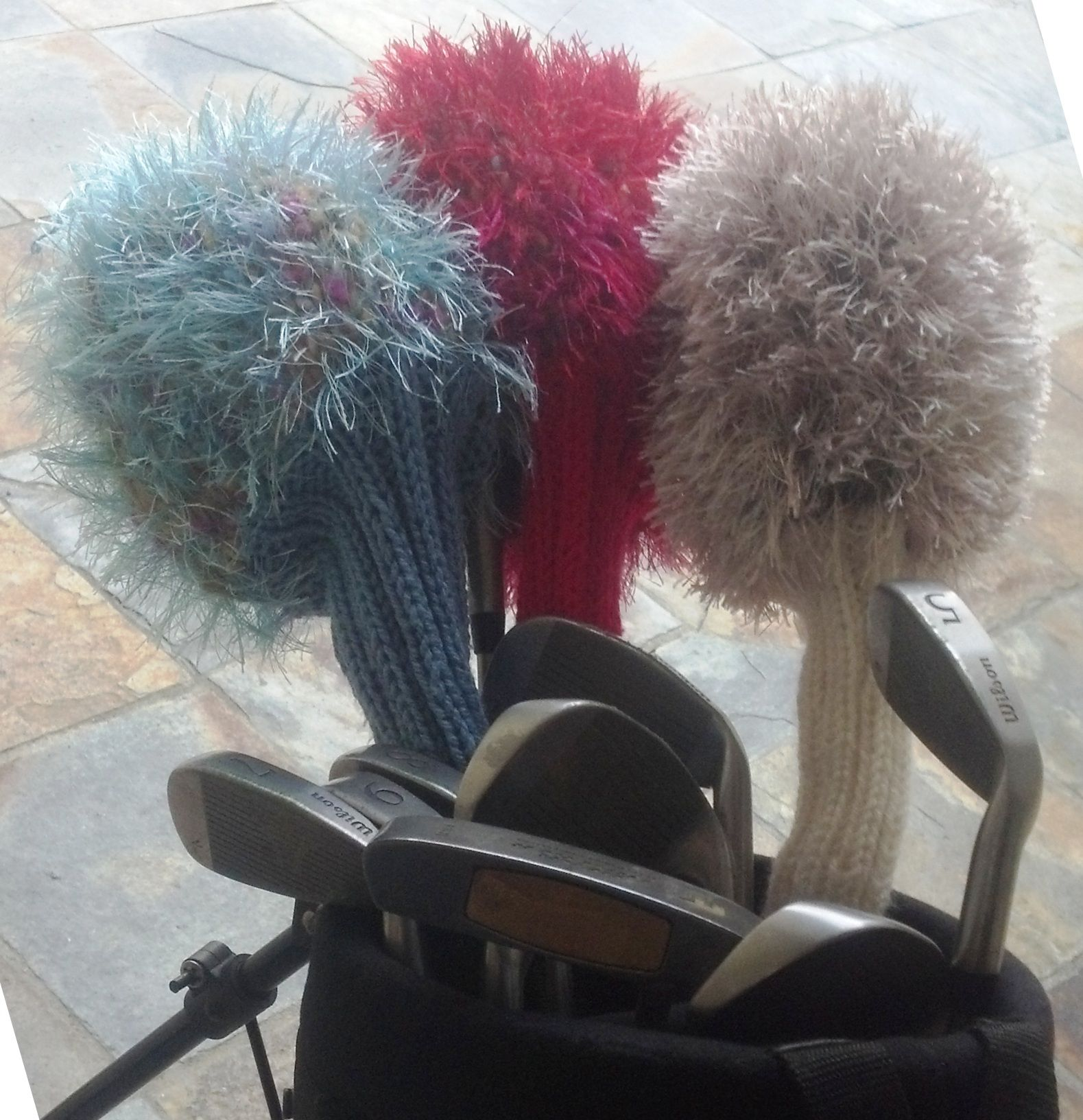 Golf Club Covers and a pattern review | Knit patterns, Patterns and ...