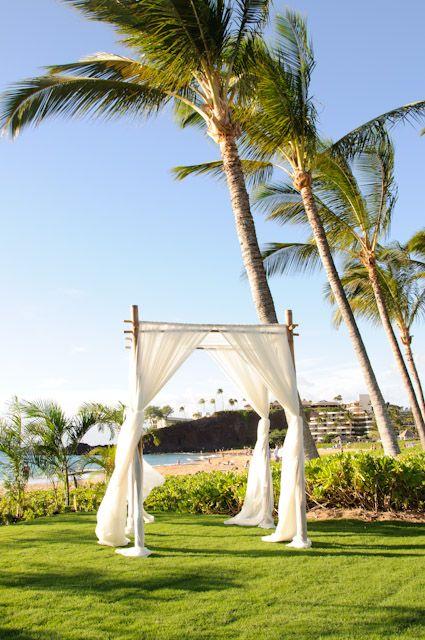 Keka A Lawn Wedding Venue At Kaanapali Beach Hotel