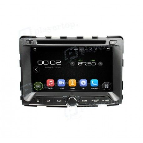 Autoradio GPS Android 7.1 Ssangyong Rexton 2014