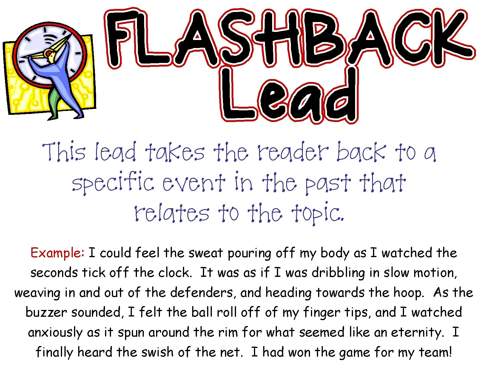 Flashback Lead Beth Newingham  Wild About Writing  Pinterest  Flashback Lead Beth Newingham