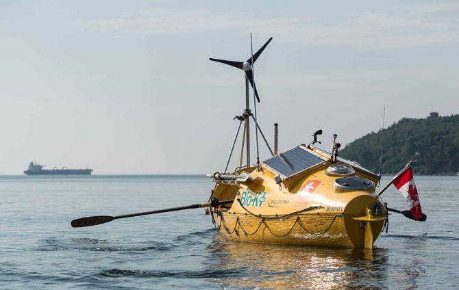 Le Bateau A Rame De Mylene Boat