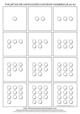 Fichas De Educación Preescolar Tarjetas De Asociación Cantidad Grafía Números 1 Al 12 Este Es Un Conjunto D Tarjeta De Puntos Tarjetas Tarjetas Imprimibles
