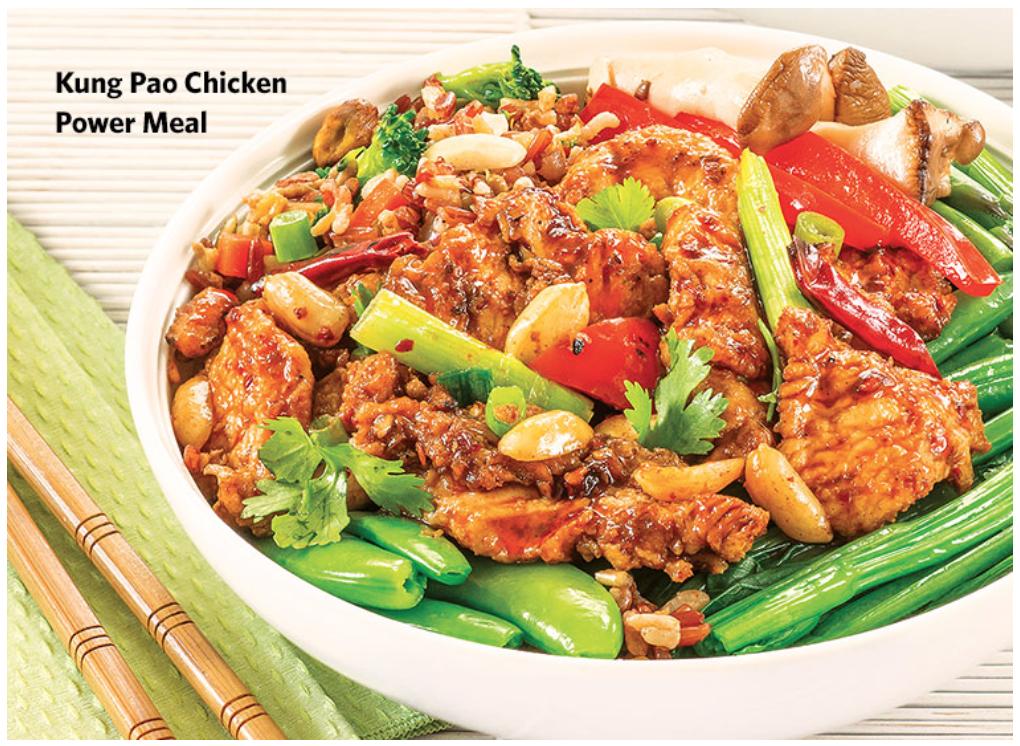 Wegmans Kung Pao Chicken Power Meal | EZ Meals | Pinterest | Kung ...
