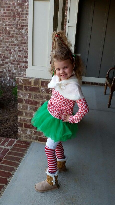 6406acf9b691 Whoville costume, Dr. Seuss dress up, How the Grinch Stole Christmas, Dr.  Seuss week