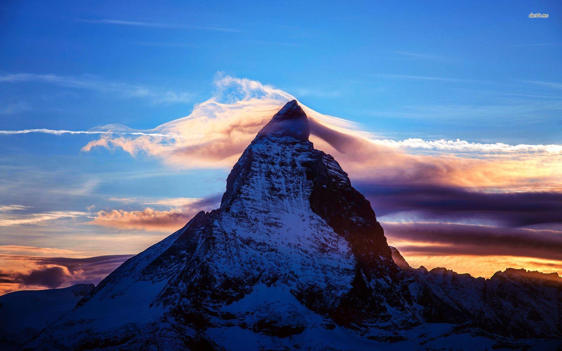 Matterhorn Hd Wallpapers Schweiz Berge Naturbilder Zermatt
