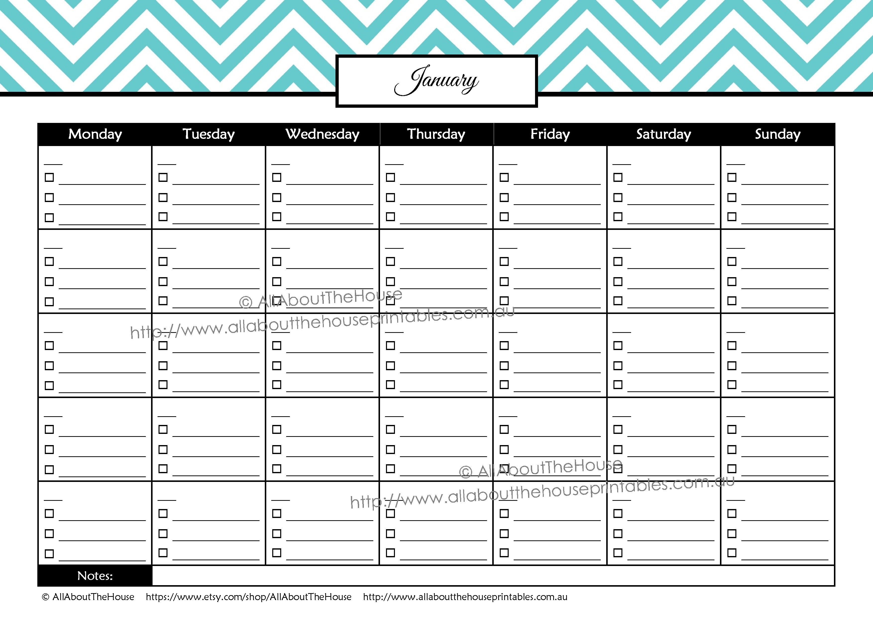 Bill Pay Calendar Allaboutthehouse Printables Printable