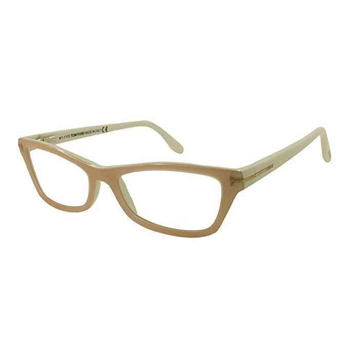 58037dd28d Tom Ford TF5265 FT5265 Eyeglasses 055 Coloured Havana Review