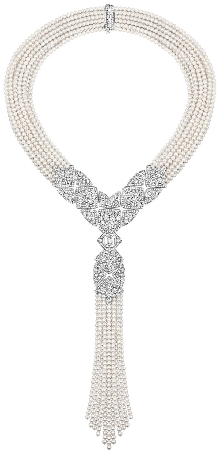 Signature De Perles Necklace from Chanel Fine Jewelry