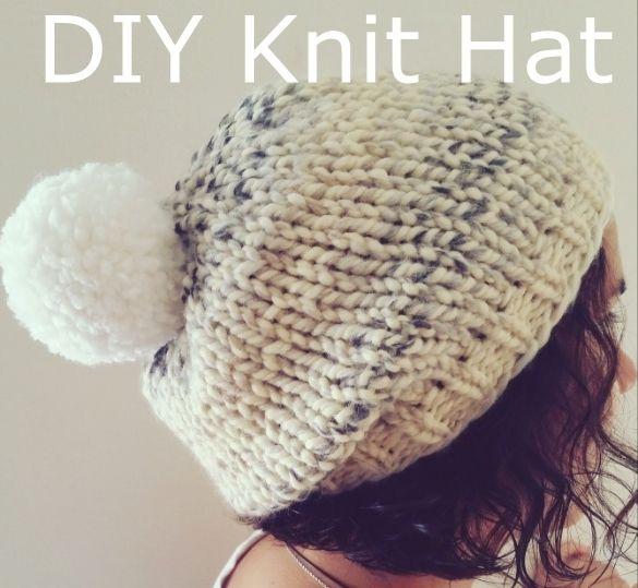 HipCreative: Super Bulky Hat (Marshmallow Fluff Chunky Hat ...
