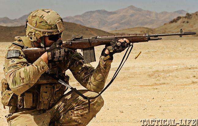 U.S. M14 Battle Rifle firing | Shoosting | Pinterest ... M14 Sniper Rifle Usmc