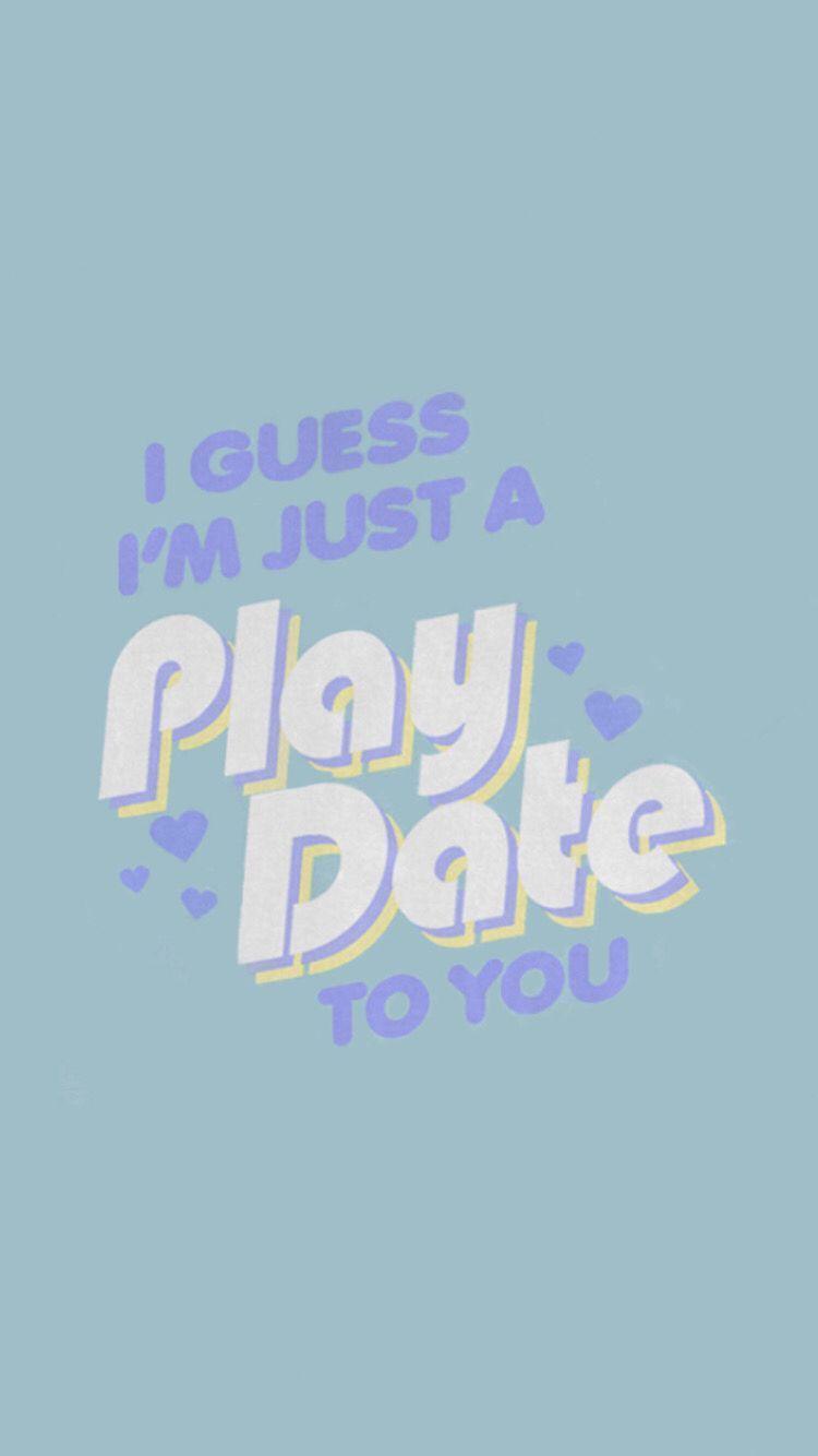 Pin By Danielle Kirkland On Light Blue Melanie Martinez Lyrics Wallpaper Quotes Song Lyrics Wallpaper