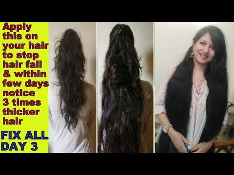 keyword[1]} and How to Grow Long and Thick Hair Naturally & Faster|Magical Hair Growth Treatment| Hair thickness tip - YouTube