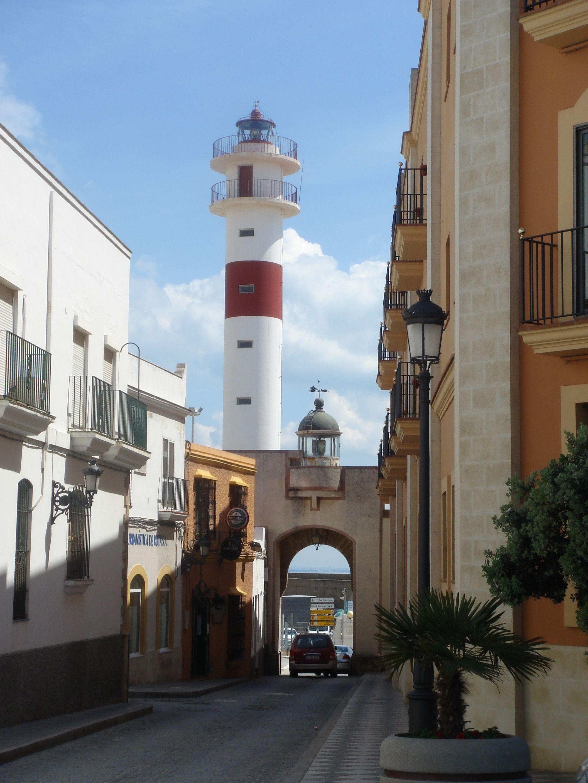 Faros De Rota Rota Spain See The Building On The Right Tara Harmon Huseth That S Our Hotel Mercusuar