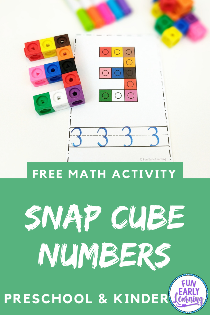 Snap Cube Numbers Hands On Math Activity For Number Identification Snap Cubes Numbers Free Math Activity Snap Cubes [ 1102 x 735 Pixel ]