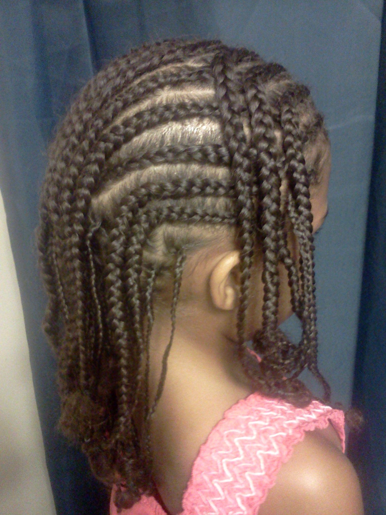 Braids hairstyles for little girls pinterest cornrows