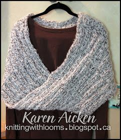 c8440eb101ae9 Knitting With Looms: Finished Mobius Shawl | Crafty, sewing ...