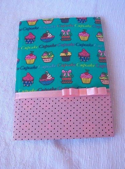 Cadernos Decorados Com Tecido Encomende O Seu Crafts Fabric