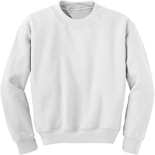 Expression Tees Basics - Plain Blank Crewneck Sweatshirt  c500d8f6676b