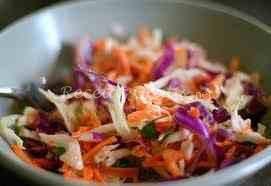 Receta de Ensalada de radicchio, manzana y zanahoria