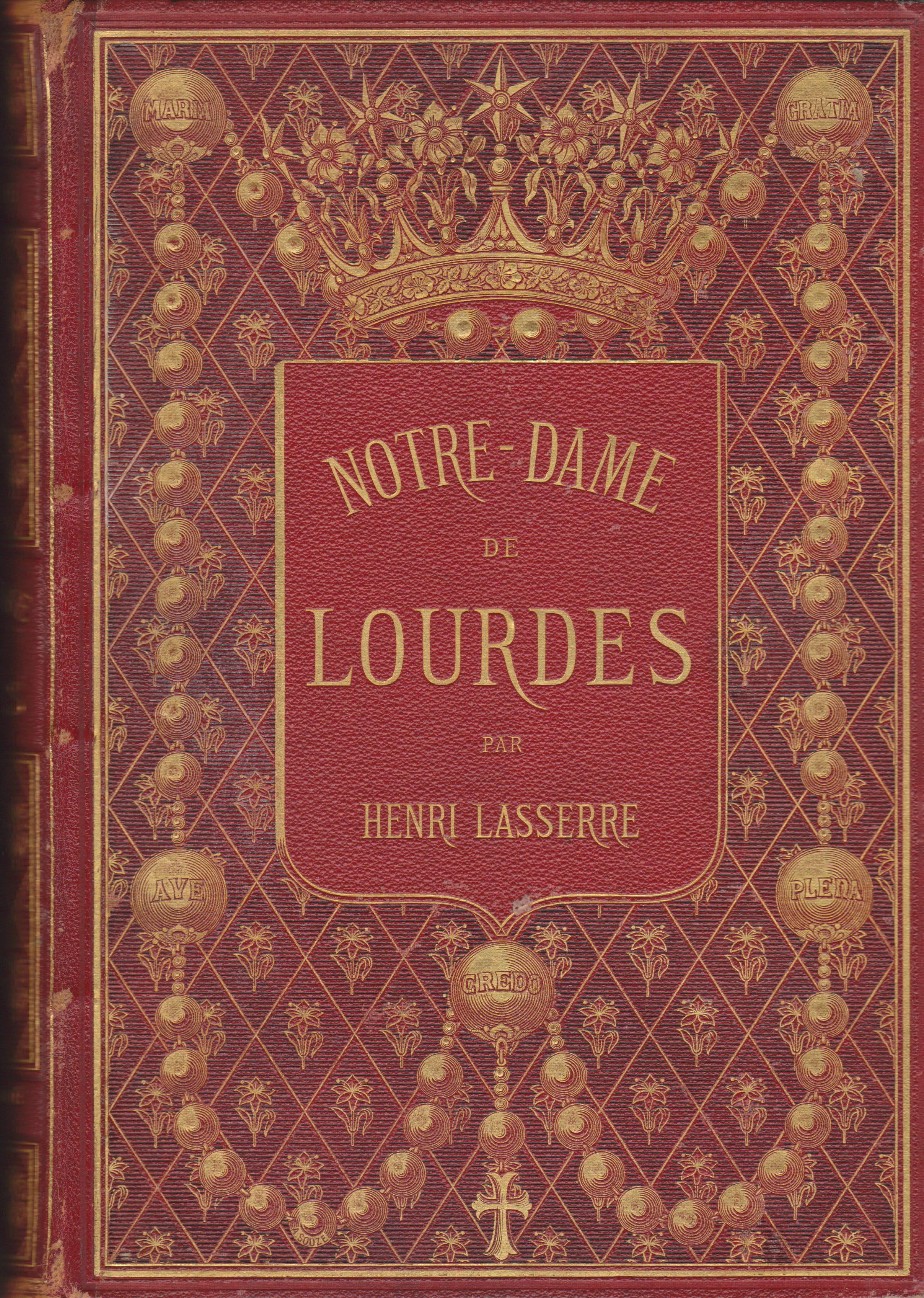 Paris: Societe Generale de Librairie Catholique, 1877.  Hardcover. Good.  Superb illustrated edition of broad frames of various scenes engraved on each page and many beautiful color lithographs, scenes, portraits, views, maps and landscapes in full page a...