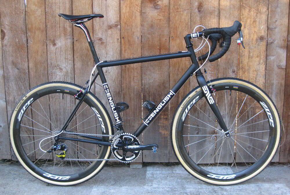 Custom Cyclocross Race Bike English Cycles S Izobrazheniyami
