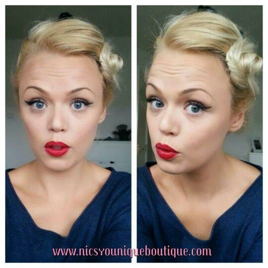 Vintage look.. Make up... All younique! Only the best ;)