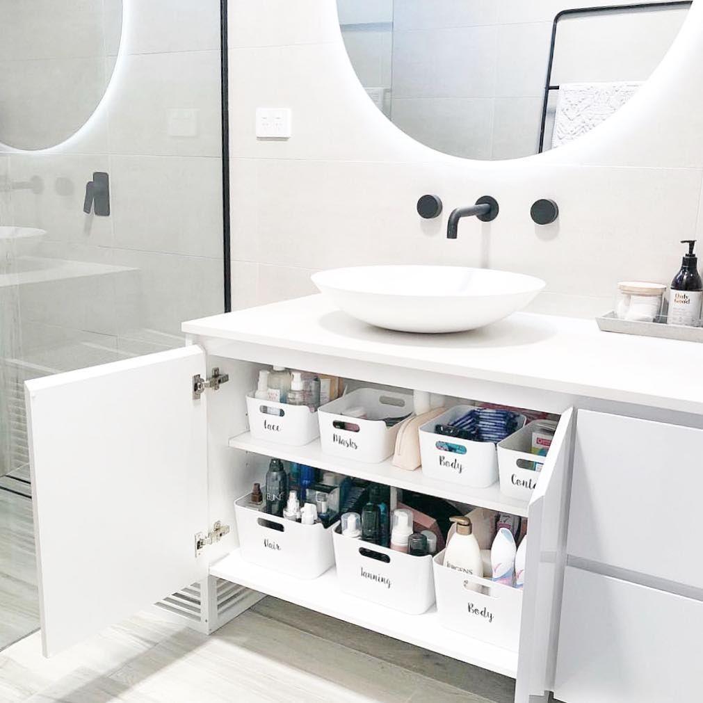 Day 3, Bathroom Komono ~ JOYWOR  Bathroom organisation, Ikea
