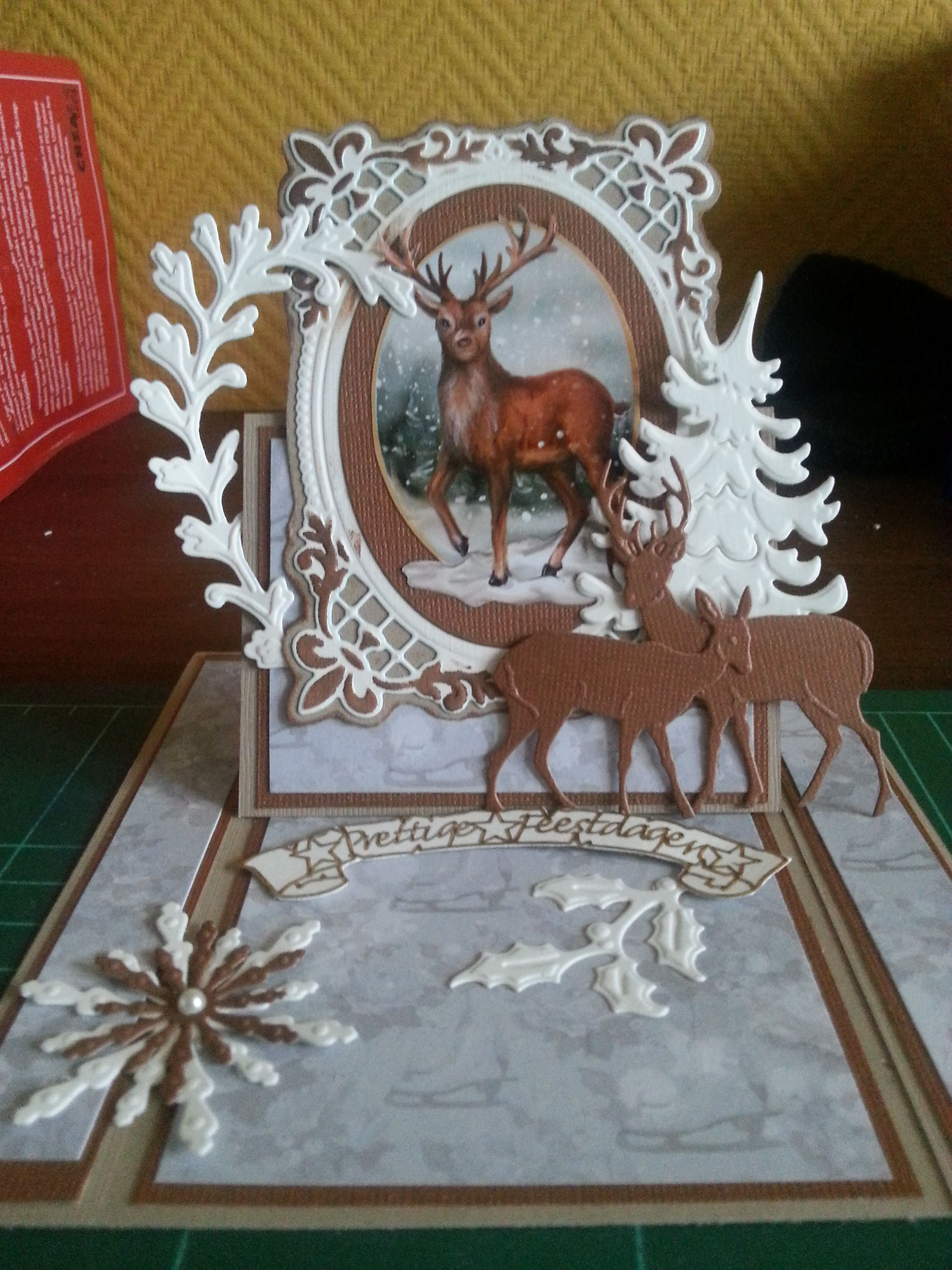 wedstrijdkaart nr 1 kerstkaarten. Black Bedroom Furniture Sets. Home Design Ideas