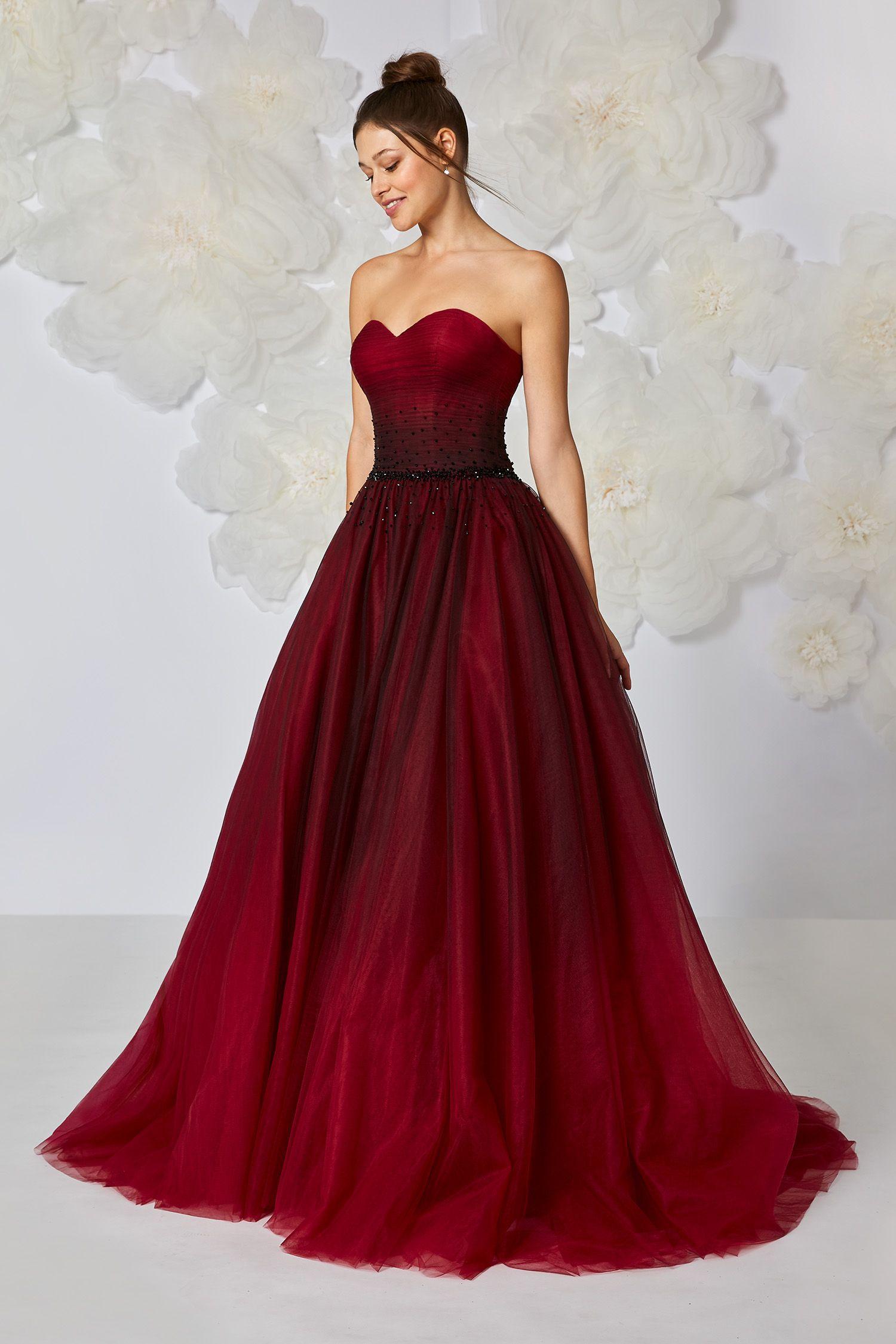 robe de mari e rouge rubis rubina atelier em robes en. Black Bedroom Furniture Sets. Home Design Ideas