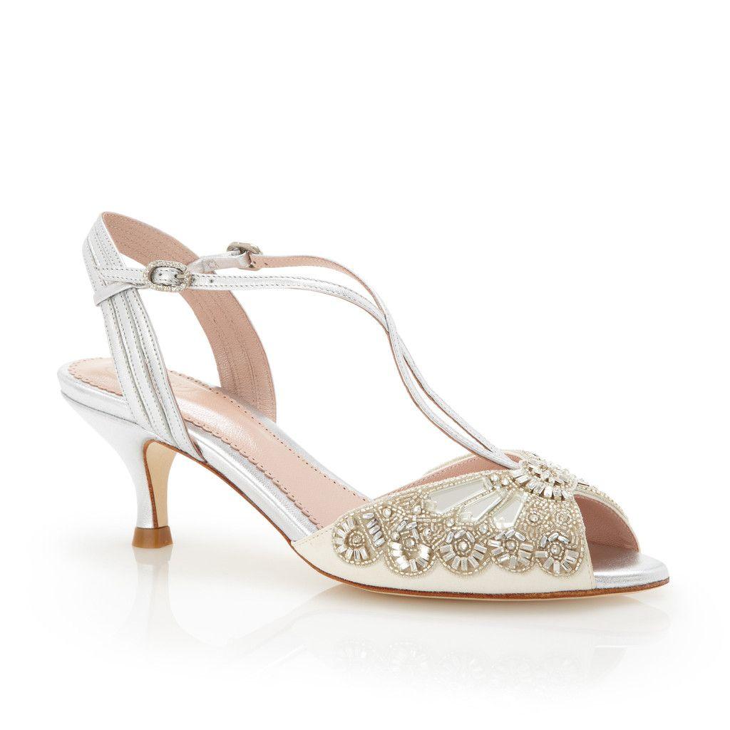 Ella Silver ShoesSilver Bridal