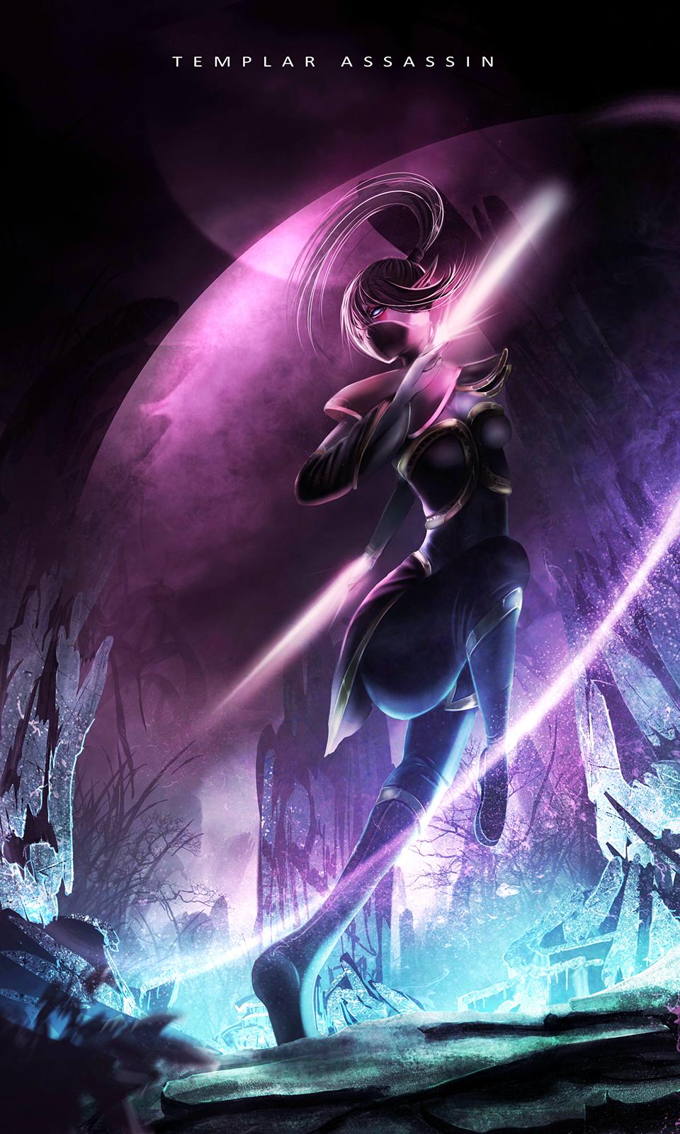 dota 2 templar assassin by bilyscd on deviantart fantasy art