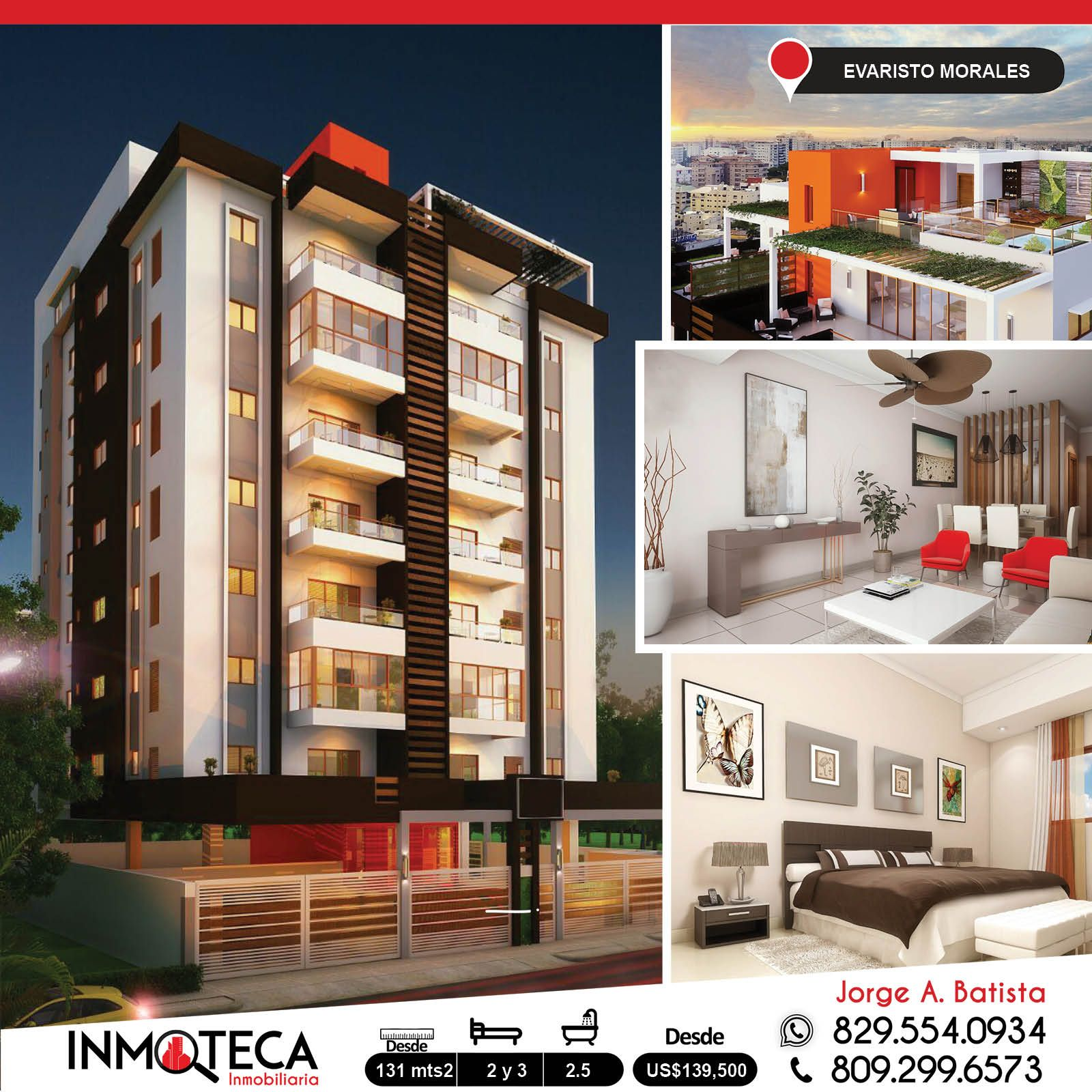 Proyecto De Apartamentos Ubicado En El Sector De Evaristo Morales Con Apartamentos Disponibles 2 Y 3 Habitaciones Apartamentos Estilo En El Hogar Habitacion