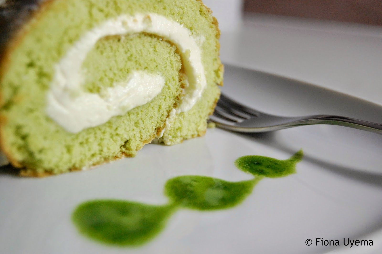 Fiona S Japanese Cooking Pandan Swiss Roll Cake Recipe