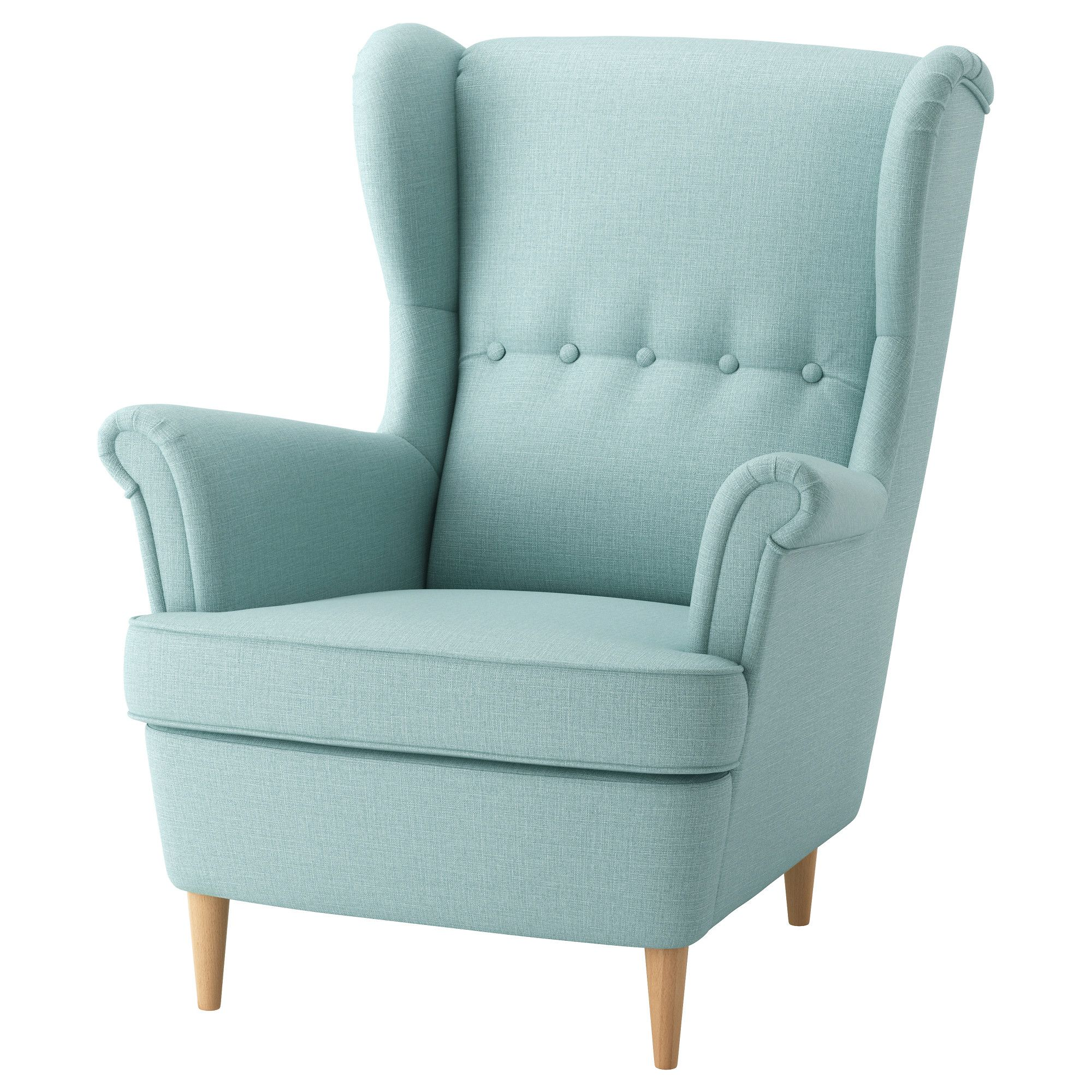 Pin By Blankabloch On Fotel In 2020 Ikea Armchair Wing Chair Ikea Strandmon
