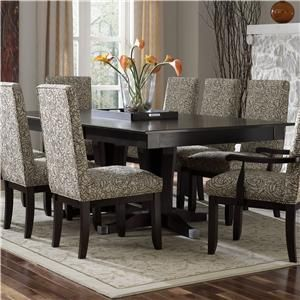 Custom Dining   Contemporary Customizable Rectangular Table By Canadel At  Becker Furniture World