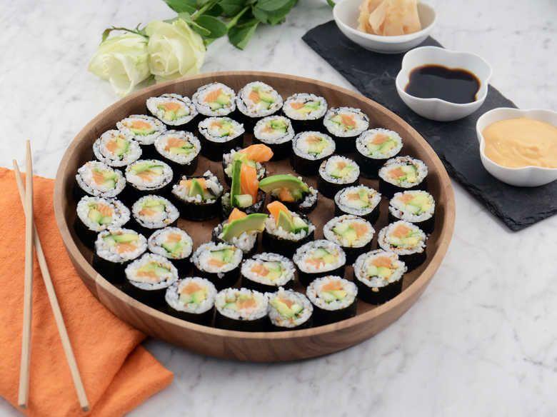 sushi göra själv