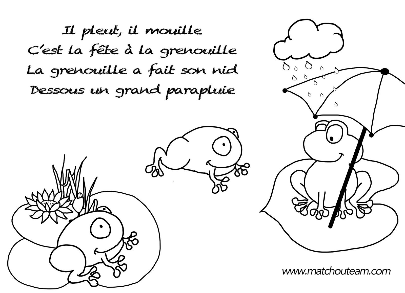Marionnettes doigts il pleut il mouille comptines il pleut et pleut - Marionnettes a doigts a imprimer ...